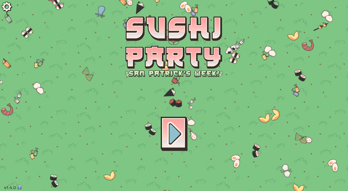 Enclave Games - Five cool Web Monetized games: Sushi Party