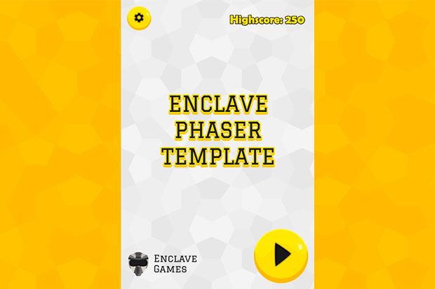 Enclave Phaser Template updated to Phaser 3.50