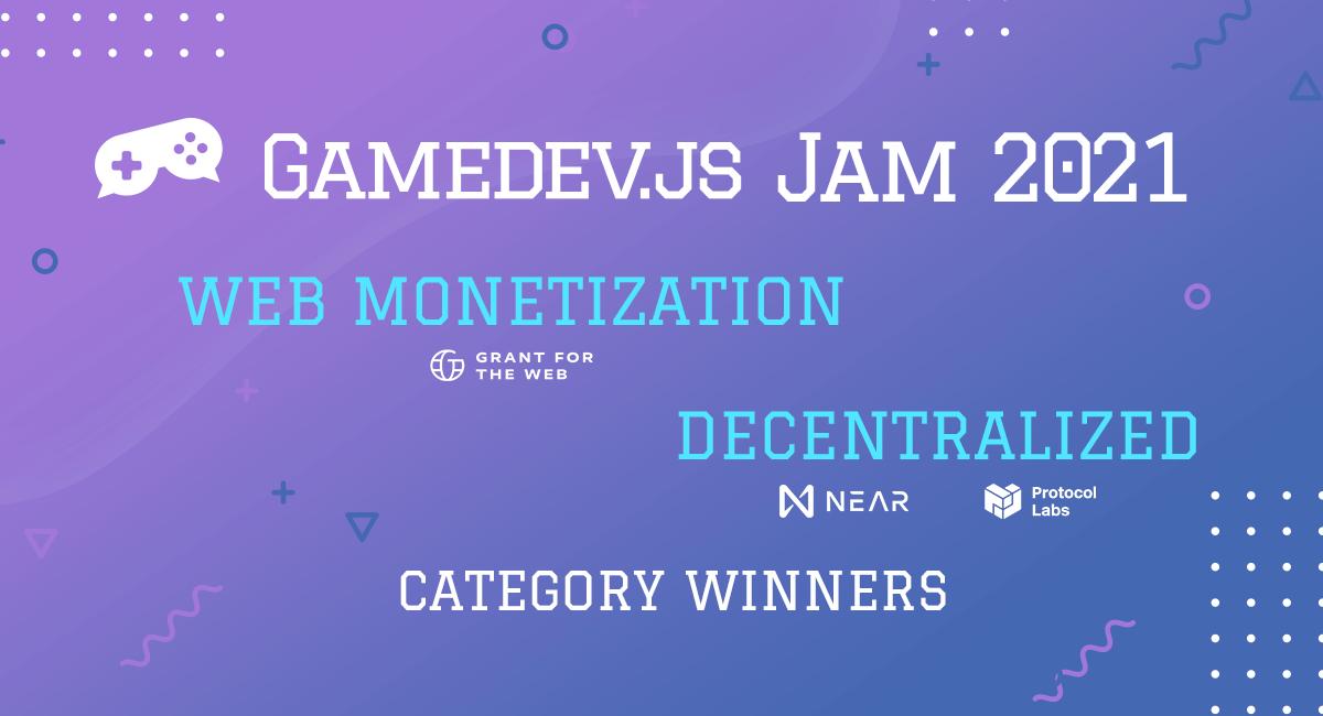 Enclave Games - Gamedev.js Jam 2021: categories
