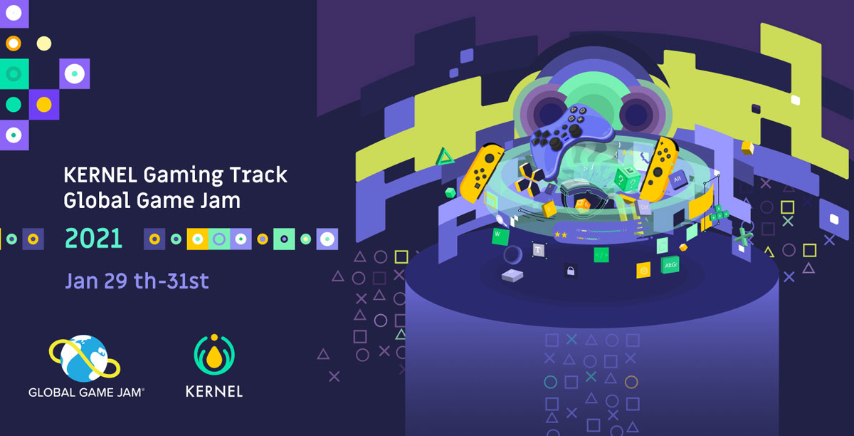 Global Game Jam 2021 with Kernel Gaming Guild, IGDA Foundation, and Web Monetization