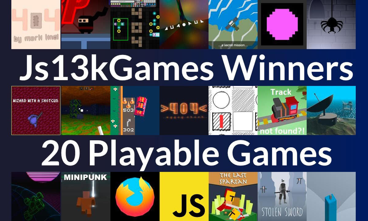Two videos about js13kGames 2020 to watch